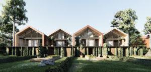 Osiedle domów jednorodzinnych na warszawskim Wilanowie pracowni MODULA Architekci
