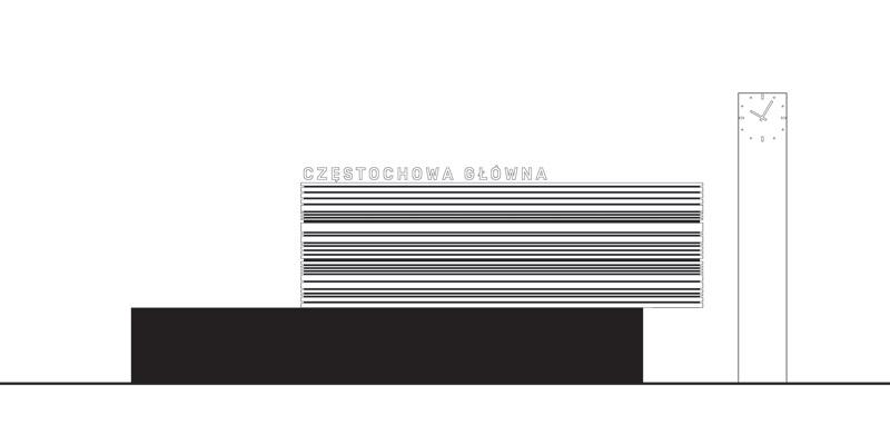 Dworzec Częstochowa Główna I Nagroda w konkursie: toprojekt / AND Studio / Studio Antonini