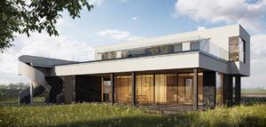 Energooszczędny dom w Słupnie pracowni GGP Architekci