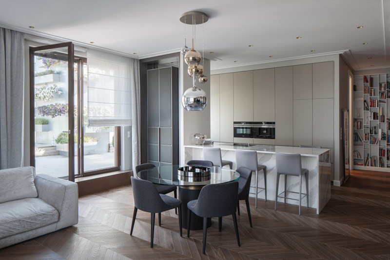 Apartament na Wilanowie. Projekt wnętrz: Taff Architekci | Paulina Taff