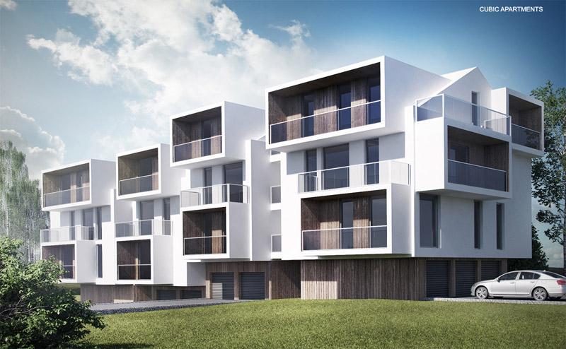 Cubic Apartments. Projekt: Autograf Studio