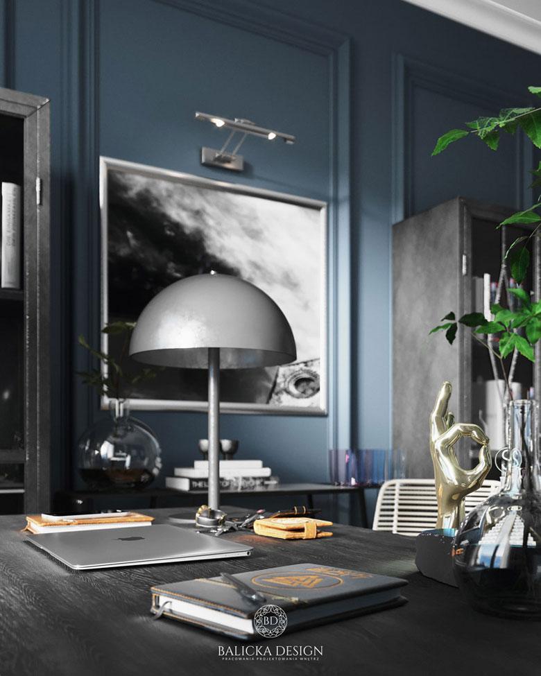 Apartament w Warszawie. Projekt wnętrz: Balicka Design
