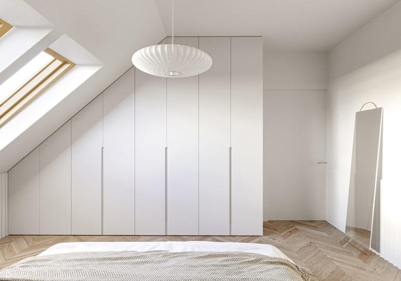 Wnętrza mieszkania w Katowicach. Projekt: be3 pracownia projektowa