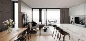 Apartament w górach pracowni D' INTERIOR