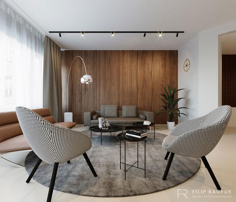 Wnętrza kancelarii w Szczecinie. Projekt: Filip Raupuk Studio Architektoniczne