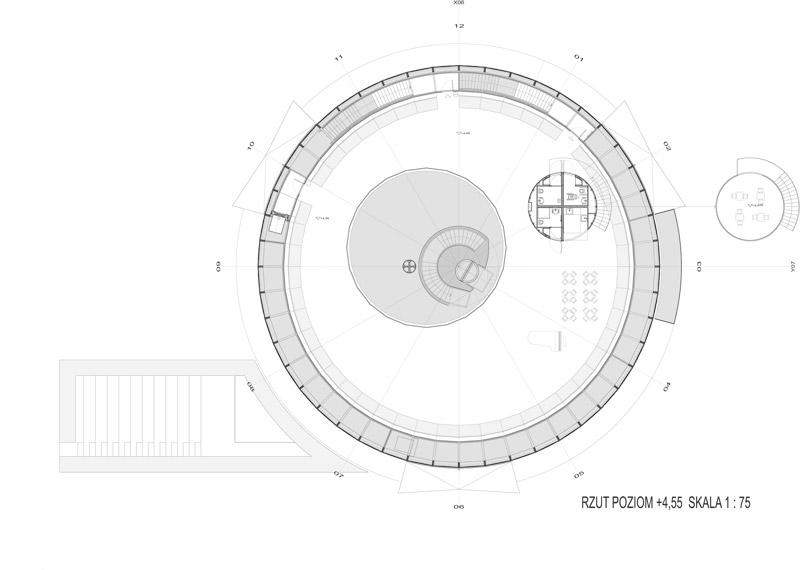 Rotunda Warsaw | Nowy oddział PKO BP, Warszawa. Projekt: GOWIN & SIUTA Architektura / Urbanistyka