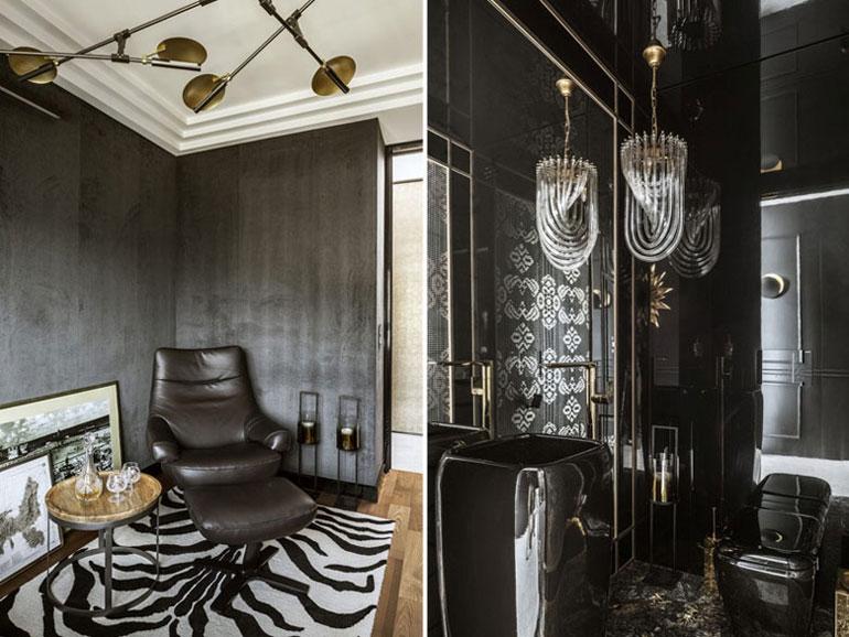Aranżacja wnętrz mieszkania. Projekt: FAMM Design. Zdjęcia: Yassen Hristov