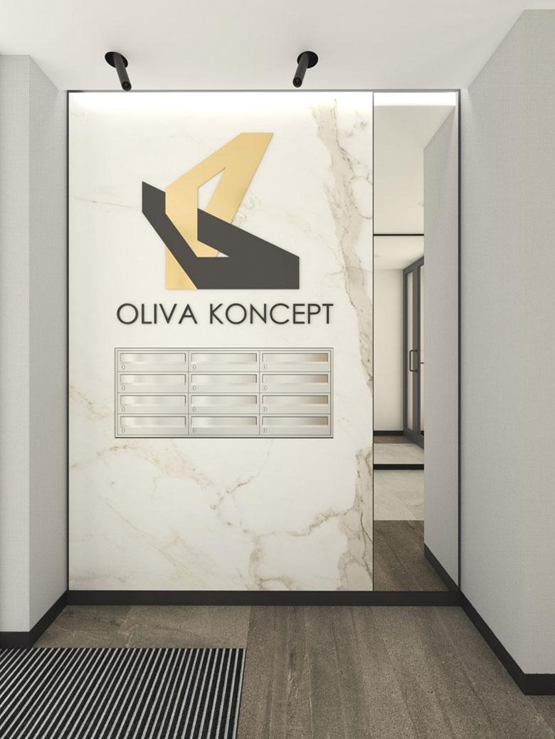 Apartamentowce Oliva Koncept, Gdańsk. Projekt: Arch-Deco