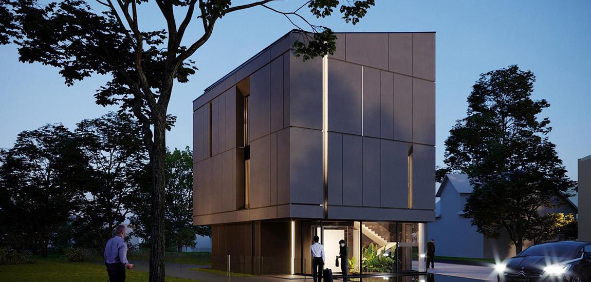 Butikowy Hotel. Projekt i wizualizacje:JMW Architekci