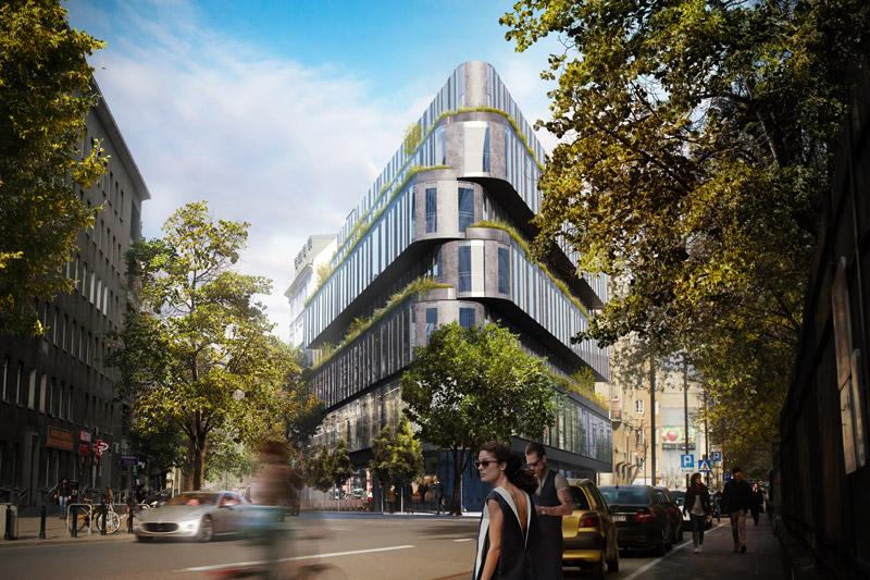 Nobu Hotel Warszawa. Projekt: Medusa Group