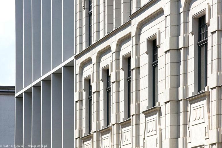 Biurowce Teal i Sepia – OFF Piotrkowska Center. Projekt: NOW Biuro Architektoniczne. Zdj. Piotr Krajewski