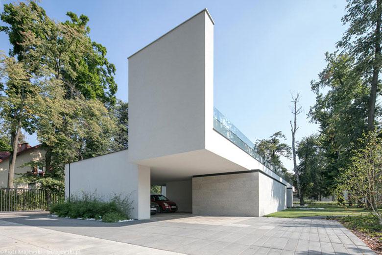 Lo.....ng House, Łódź. Projekt:Reform Architekt | Marcin Tomaszewski. Zdjęcie: Piotr Krajewski