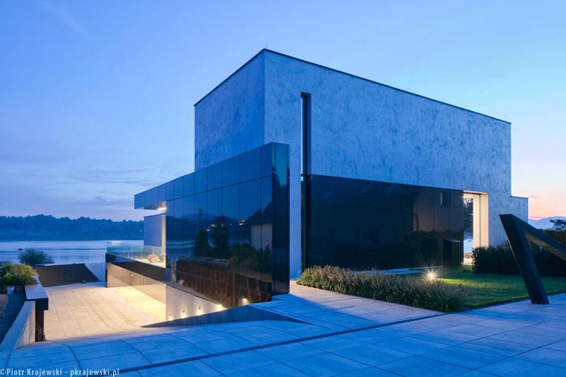 Dom nad Jeziorem. Projekt:REFORM Architekt | Marcin Tomaszewski. Zdjęcia:Piotr Krajewski