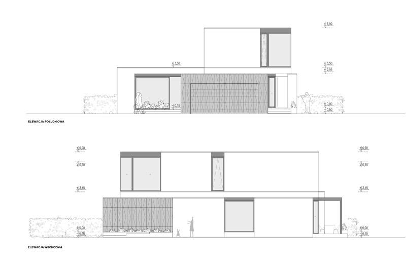 Dom S, Warszawa. Projekt: STOPROCENT Architekci s.c.