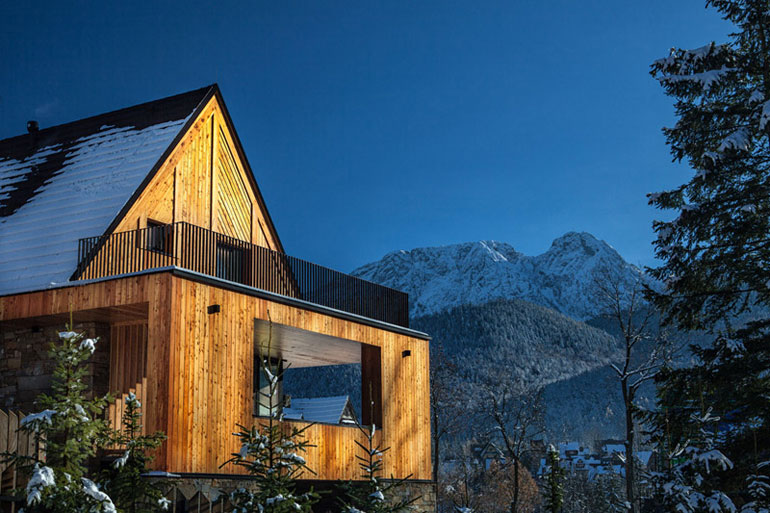 Willa Frame - Dom w górach pracowni Karpiel Steindel Architektura. Zdjęcia: Krystian Morawetz