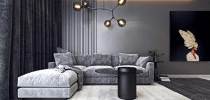 Kontrastowa elegancja we wnętrzach mieszkania projektu studia Ambience. Interior Design