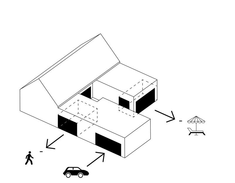 Dom w Kliszowie. Projekt: MEEKO Architekci