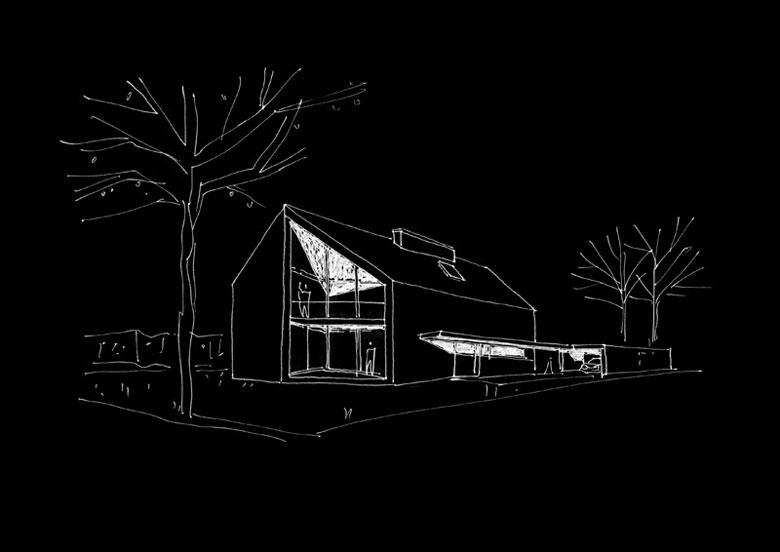Dom z Zacięciem, Wrocław. Projekt:PAG | Pracownia Architektury Głowacki