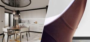 Wnętrza inspirowane pasją do muzyki – apartament projektu Marty Koniczuk