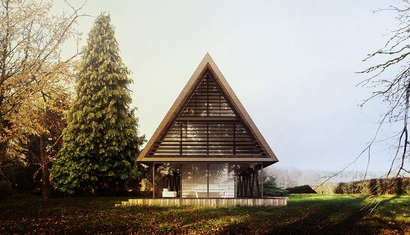 Polska Chata. Projekt:BXBstudio Bogusław Barnaś