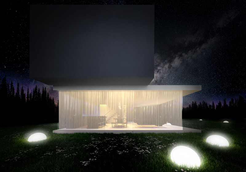 Dom Horizontal House, Mikołów. Projekt: Autograf Studio