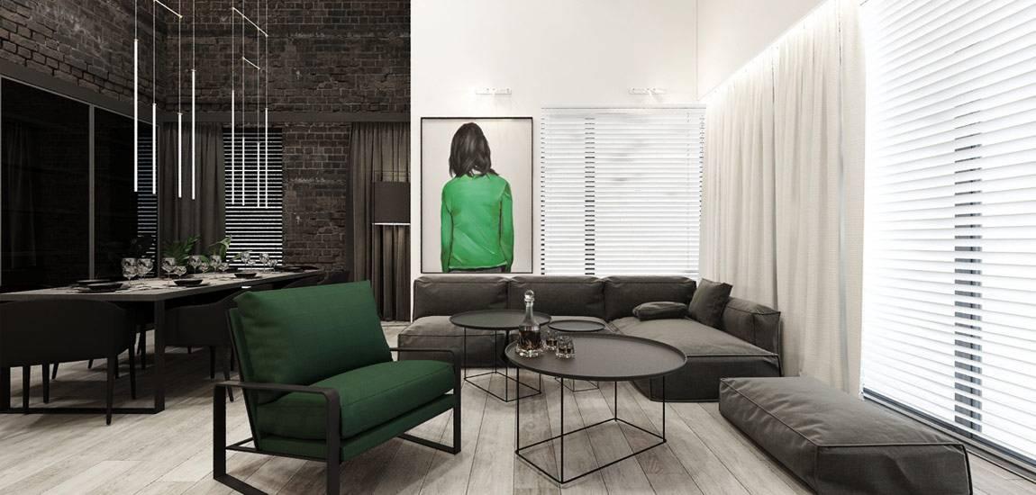 Siła kontrastów. Wnętrza domu projektu biura Otwarte Studio Sztuka