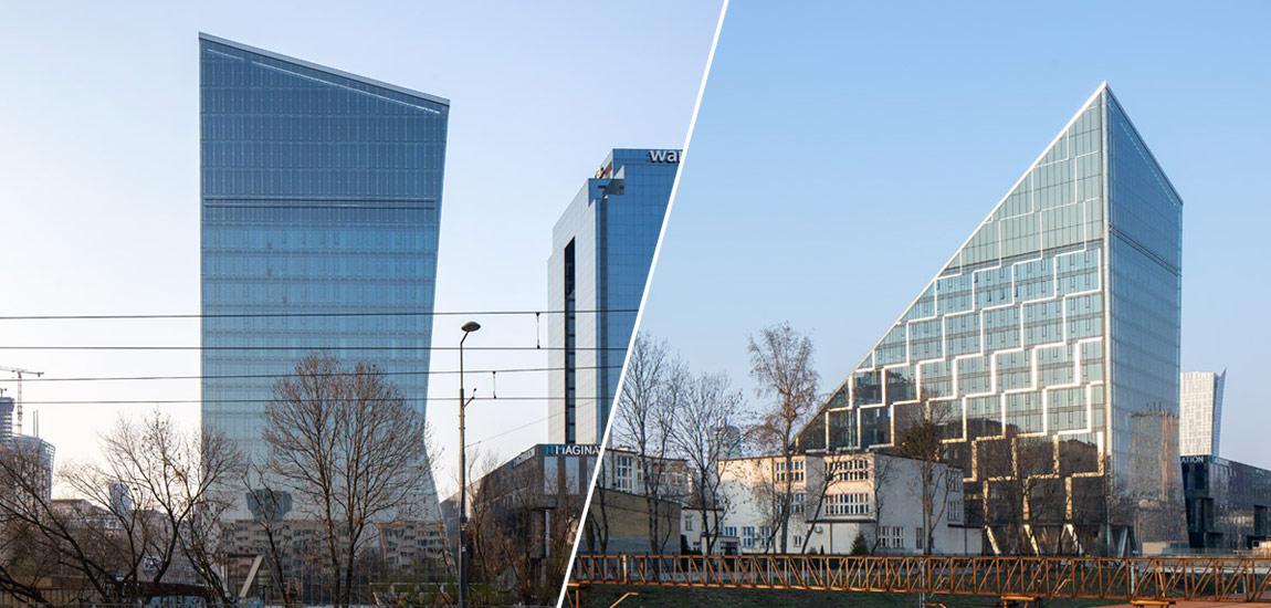 Biurowiec Chmielna 89, Warszawa. Projekt: Epstein. Zdjęcia: Piotr Krajewski