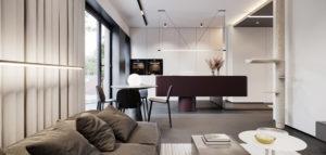 Dwa oblicza domu projektu studia hilight.design