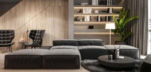 Naturalne materiały i proste formy. Wnętrza domu biura Merapi Architects