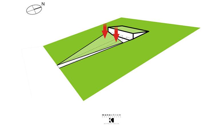 Dom EYE. Projekt:Monochrom Architects | Witold Kucza