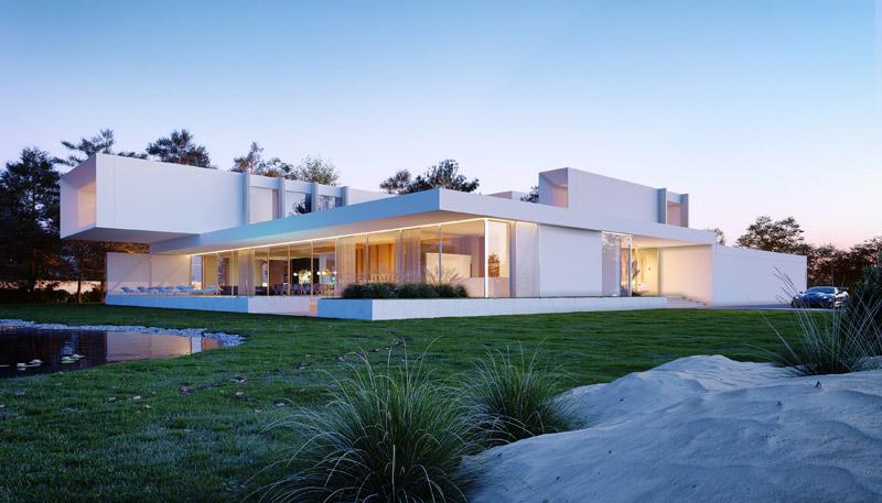 A House. Projekt: Przemek Olczyk   Mobius Architekci