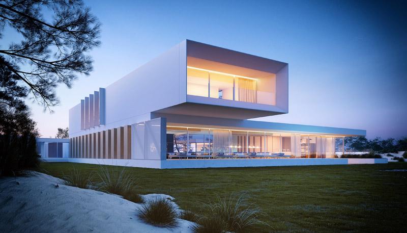 A House. Projekt: Przemek Olczyk | Mobius Architekci