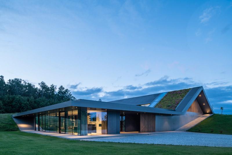 Dom Green Line. Projekt: Przemek Olczyk | Mobius Architekci