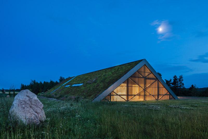 Dom Green Line. Projekt: Przemek Olczyk   Mobius Architekci