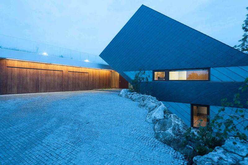 Dom Edge House. Projekt: Przemek Olczyk | Mobius Architekci