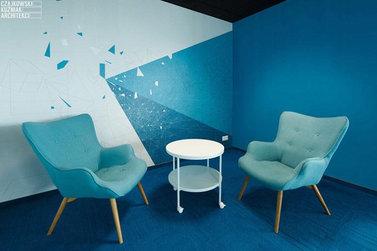 Projekt wnętrz biura WI2, Katowice. Autorzy:Czajkowski Kuźniak Architekci. Zdjęcia:Archifolio | Tomasz Zakrzewski