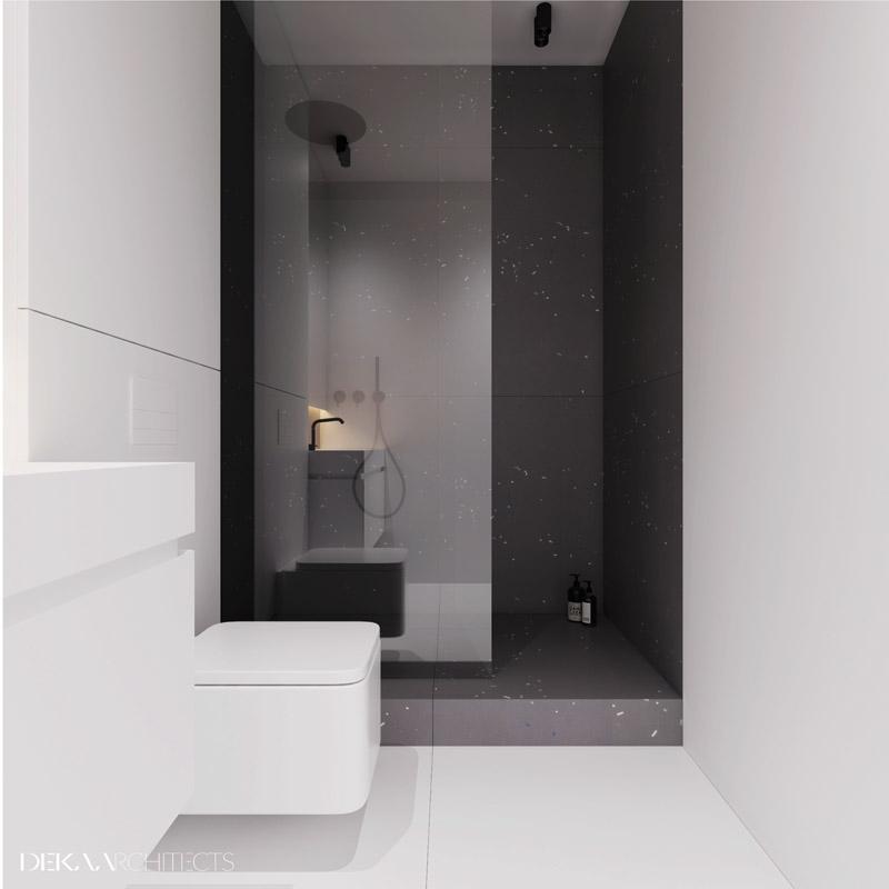 Wnętrza mieszkania, Browary Warszawskie, Warszawa. Projekt:DEKAA Architects