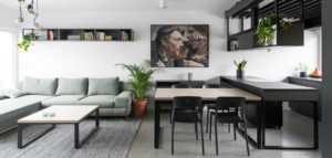 Mieszkanie inspirowane malarstwem Jacka Malczewskiego