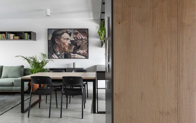 Mieszkanie w Willi Antoninek w Poznaniu. Projekt:ENDE | Marcin Lewandowicz. Zdjęcia:Przemysław Turlej
