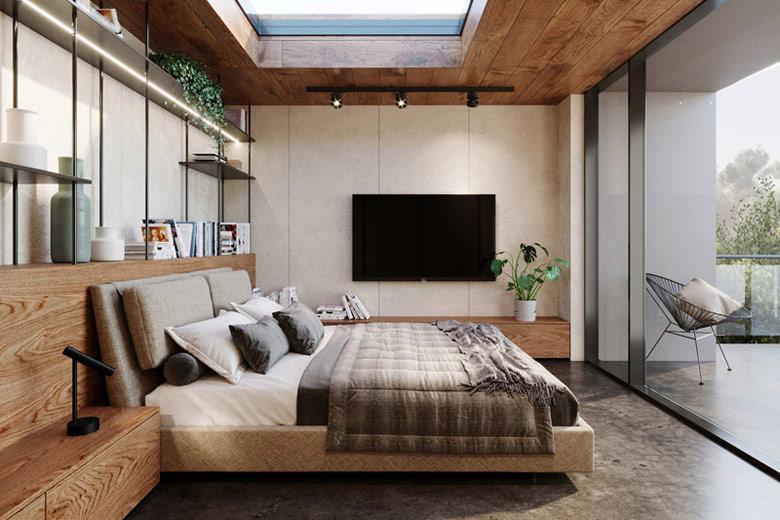 Dom wielozadaniowy. Projekt wnętrz:KANDO ARCHITECTS