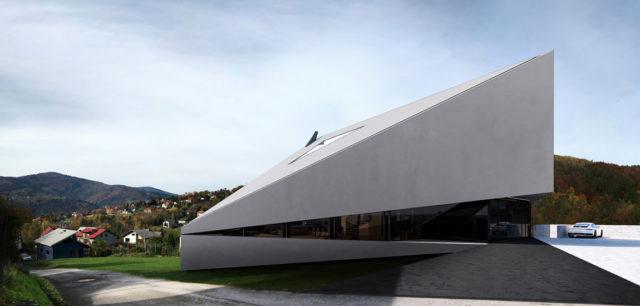 Dom zainspirowany otaczającymi górami projektu biura REFORM Architekt
