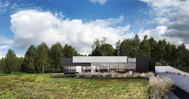RE: HOUSE IN THE ROCK - dom na wzniesieniu projektu pracowni REFORM Architekt