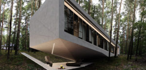 Inspirowany kształtem kalifornijskich drzew dom Joshua Tree House