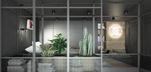 Małe mieszkanie z efektowną antresolą. Wnętrza projektu pracowni SYMETRIA