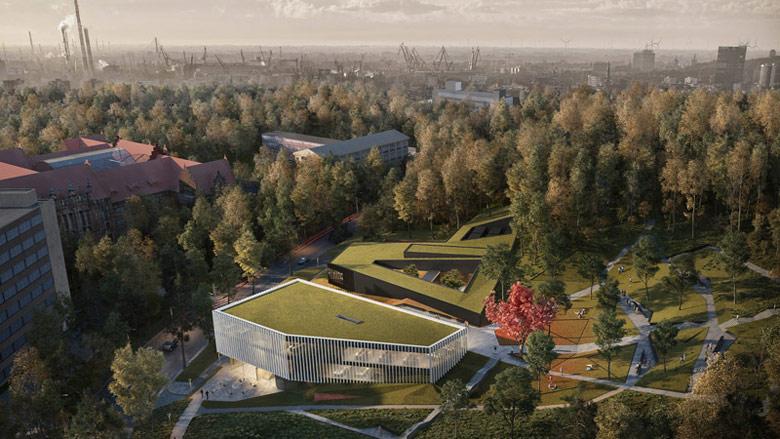 Centrum Informatyczne Politechniki Gdańskiej. Projekt: Arch-Deco
