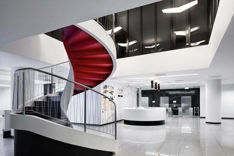 Budynek biurowy TRYTON. Projekt: Arch-Deco