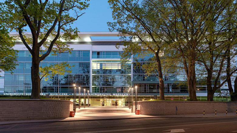 Centrum Medycyny Inwazyjnej. Projekt: Arch-Deco