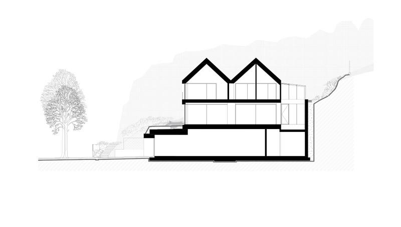 Dom nad bulwarem, Gdynia. Projekt: Arch-Deco
