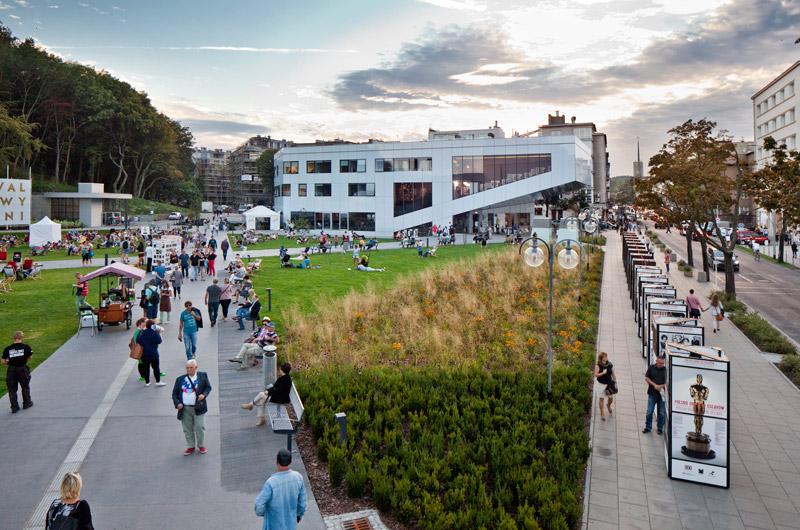 Gdyńskie Centrum Filmowe. Projekt:Arch-Deco