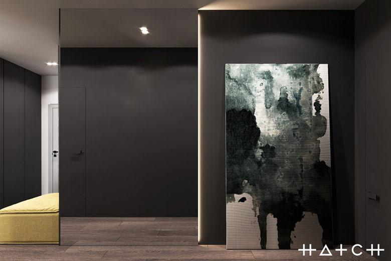 Wnętrza mieszkania w Warszawie. Projekt: HATCH Studio